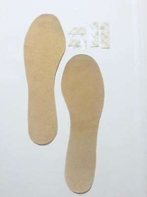 WOMEN'S INSOLES The ONLY REAL SUEDE LEATHER insole available for ALL DRESS SHOES