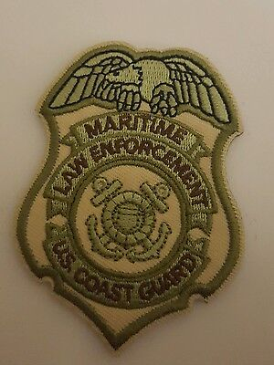 USCG badge patch Coast Guard multicam  DSF DOG MSRT TACLET