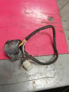 1981 81 YAMAHA MAXIM  XJ550J damaged left hand control switch + choke lever