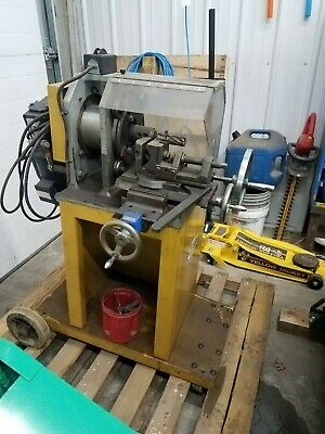 Used Baileigh Tn-800 Tube And Pipe Notcher Includes Shipping