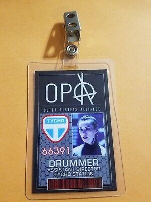 The Expanse Id Badge-Opa Drummer Cosplay Requisite - Drummer Kostüm