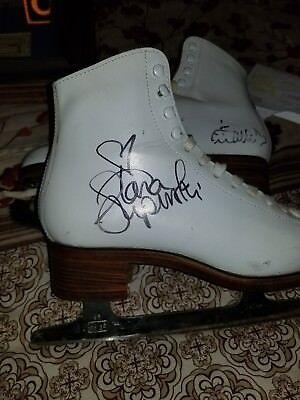 Tara Lipinski Autographed Ice Skate  Coa