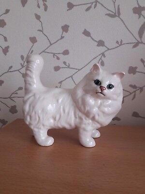 beswick white persian cat