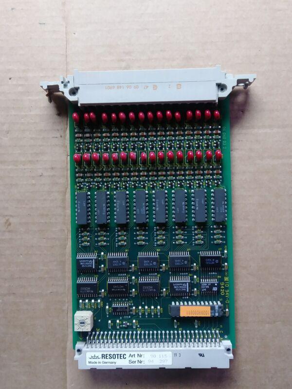 Resotec 90 115. Resotec 9626464 DE100. Used.