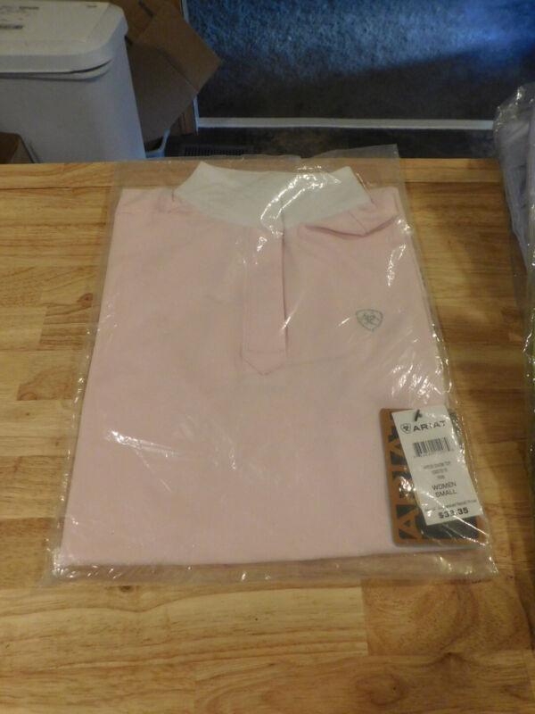 Ariat Aptos Pink Womens Show Shirt Small