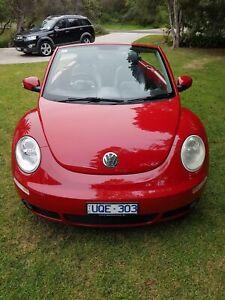 2007 Volkswagen Beetle Cabriolet 5 Sp Manual 2d Cabriolet