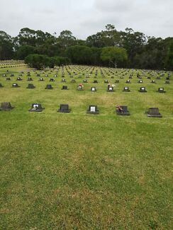 Single Burial Plot for sale, Field of Mars cemetery , Ryde, NSW.