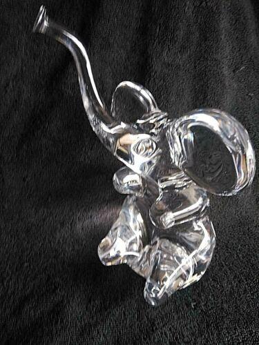 Daum Crystal Elephant - Large version