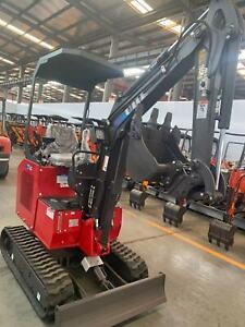 New Stock Arrives! UHI 2021 UME15, 1.5T Mini Excavator,Top Brand Quality, Kobota Engine! Archerfield Brisbane South West Preview