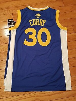 06d809844e1 Golden State Warriors Stephen curry blue  30 Jerseys Xlarge