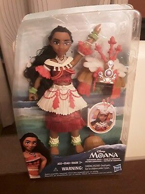 Disney Moana Ceremonial Dress New in Damaged Box