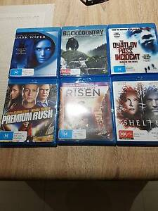 6x blue ray movies Clarkson Wanneroo Area Preview