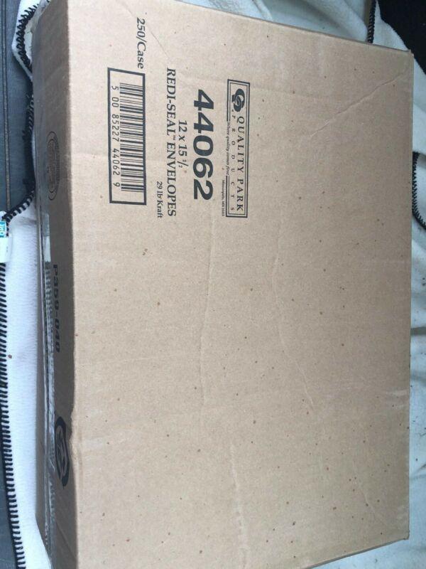 Quality Park Products + 44062 12x15 1/2 redi-seel envelopes