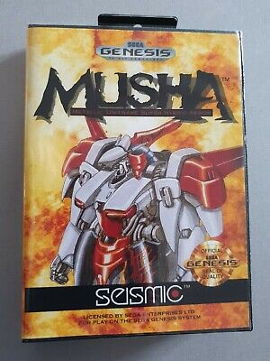 MUSHA , JAP sur SEGA MEGADRIVE / GENESIS
