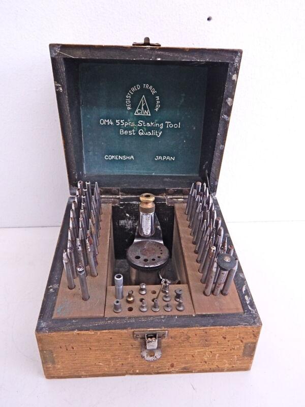 Vintage CKN Watch Staking Set Watchmaker Jewelers Tool