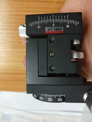 Sigma Koki 3-axisz Height Linear Adjusttiltrotation Angle Stagetable 4040mm