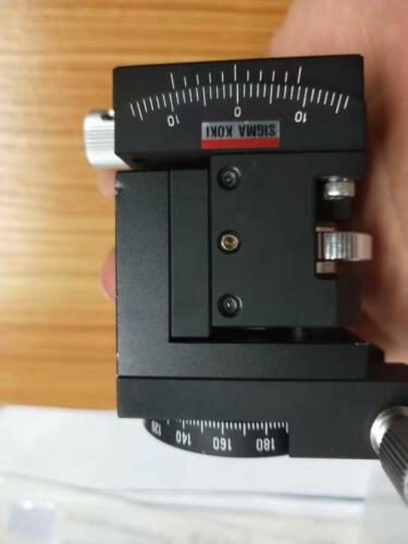 Sigma KOKI 3-axis,Z height Linear adjust+Tilt+Rotation Angle Stage,Table 40*40mm