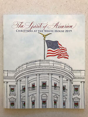 2019 White House Christmas Holidays Tour Book Program Donald Melania Trump POTUS ()