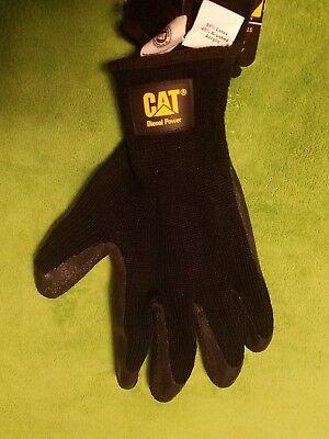 Cat Diesel Power Construction Work Gloves Sze L New