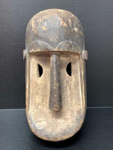 AFRICAN ART, TRIBAL ART KUMU MASK