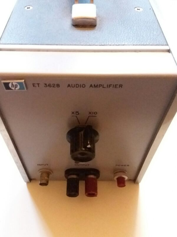 HP ET-3628, Audio Amplifier