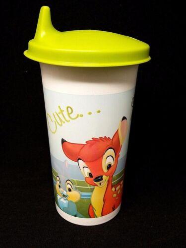 TUPPERWARE Disney Bambi bell  Tumbler w/ Flip Top Seal 10.5 oz New