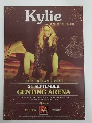 Музыка Kylie. The Golden Tour UK