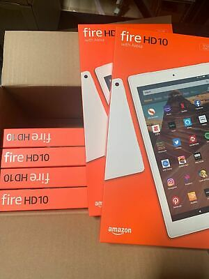 New Amazon Fire HD 10 Tablet(9th Generation 2019)32GB, Wi-Fi,10.1'' White