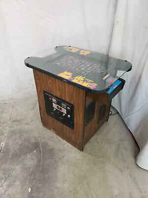 Ms. Pacman Cocktail by Midway COIN-OP CLASSIC Arcade Video Game