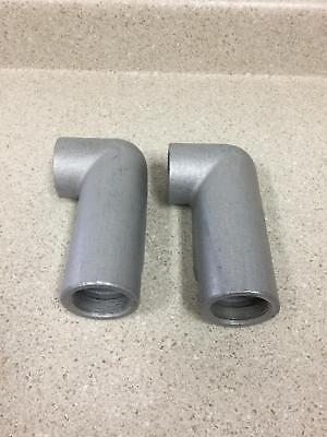 Crouse-hinds Ll57 Form 7 Condulet 1 12 New Box Of 2