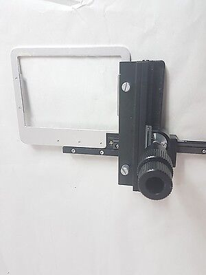 Microscope Part Nikon Slide Specimen Holder Adjustable