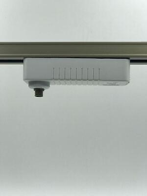 Jesco Lighting MA-TA-HWH Accessory - Monorail Standard Line Voltage Track Adapte