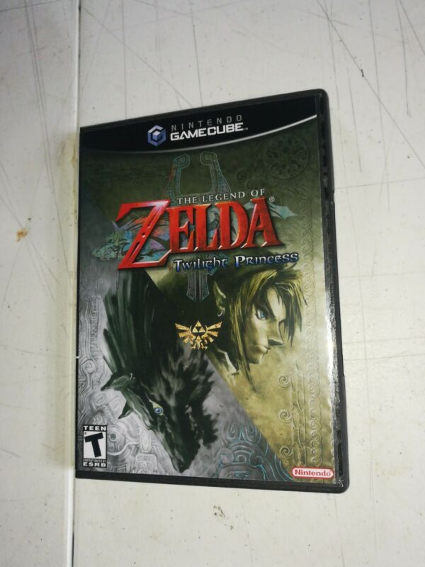 The Legend of Zelda Twilight Princess Replacement Case only! Nintendo Gamecube!
