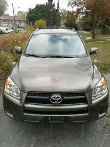 2010 Toyota RAV4 SUV AWD 2.5L Excellent condition with Safety