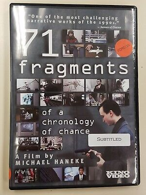 71 Fragments of a Chronology of Chance (DVD,