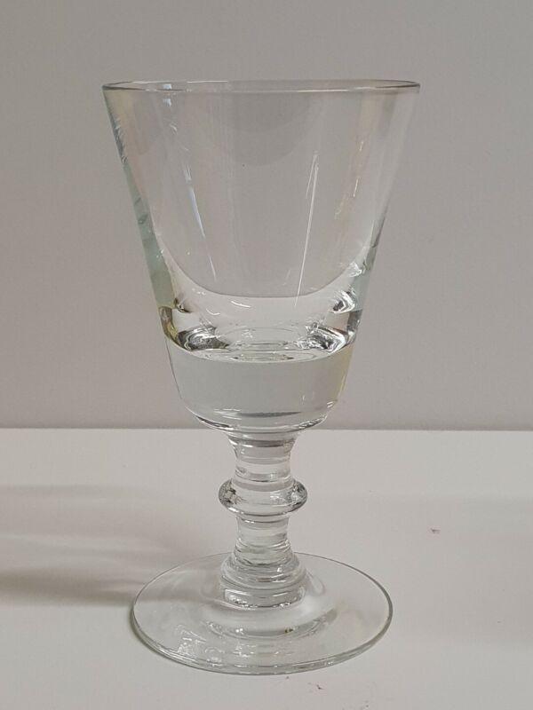 🔶️HOLMEGAARD WELLINGTON GLASS MODEL ANNO 1866 DANISH MODERN MCM EAMES