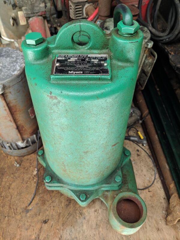 Myers Sump/Effluent Pump; Model MW-43