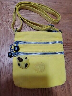 Kipling Small Crossbody Bag And It Has The Monkey  In Yellow