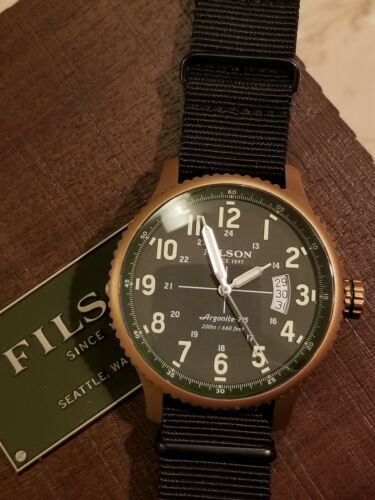 Filson Mackinaw Field Watch Shinola 43mm Quartz