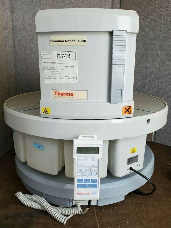 Thermo Shandon Citadel 1000 Bench Apparatus Tissue Processor Wax Bath Carousel