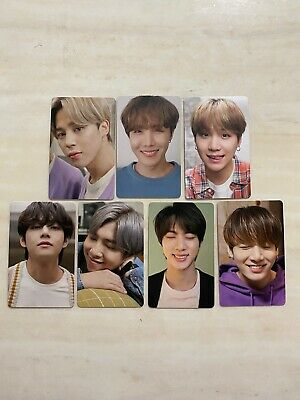 BTS SAMSUNG galaxy S20 official photo cards SET Limited edition rare authentic