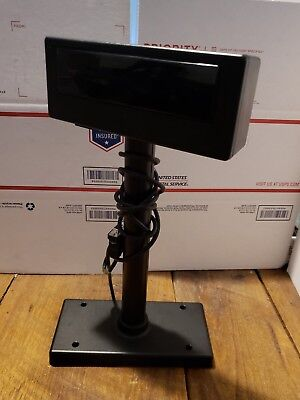 Pl-200 Pos Register Customer Display W Pole And Base Assembly