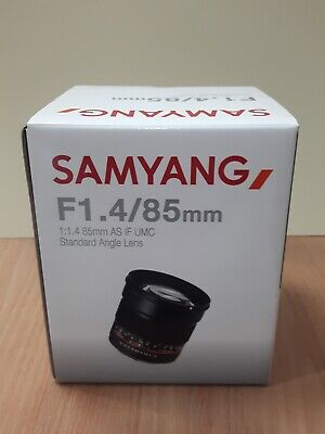Samyang 85mm 1.4 AS IF UMC for Fuji-X