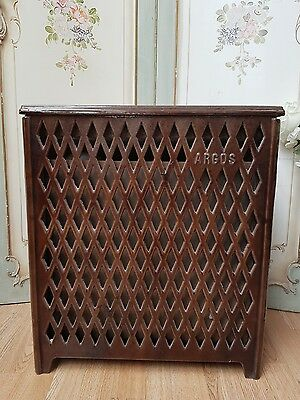 STRIKING ANTIQUE FRENCH 'ARGOS' WOOD BURNING STOVE - c1940