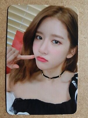 WJSN EXY Official PHOTOCARD #3 WJ STAY? 6th Mini Album Cosmic Girls 엑시