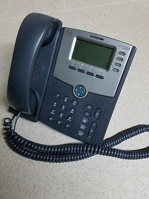 Cisco Spa504g 4-line Ip Voip Telephone Display Phone Poe No Power Supply