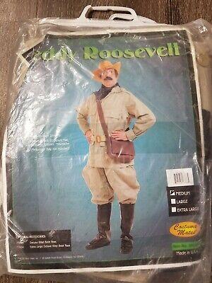 T Adult Costume Mates Teddy Roosevelt Halloween Costume Size M ***NO HAT*** (Teddy Roosevelt Costume)