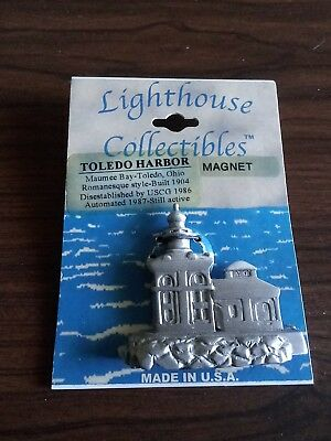 LIGHTHOUSE COLLECTIBLES TOLEDO HARBOR MAGNET