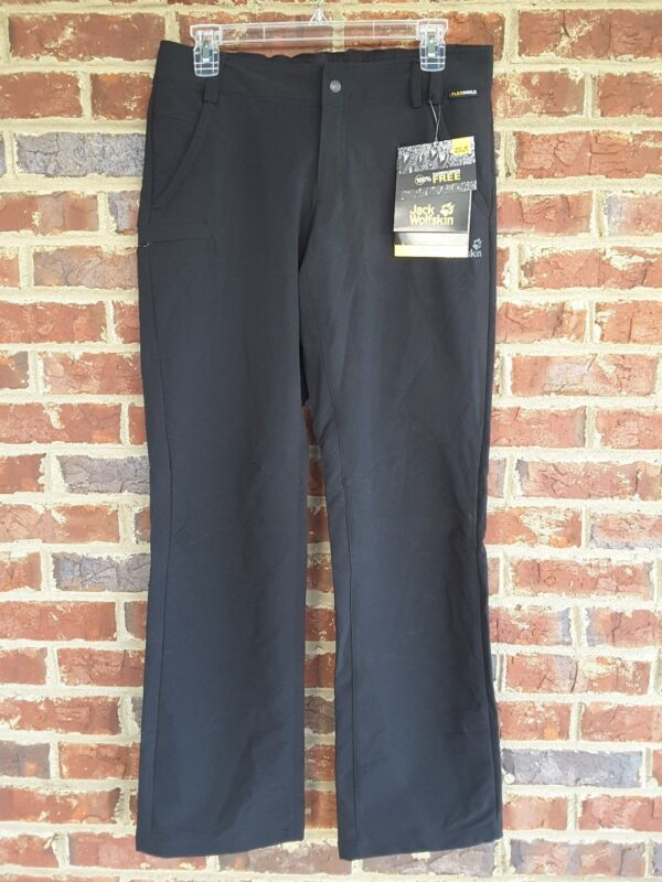 JACK Wolfskin Activate II Pants Softshell Stretch Trousers Pants Youth Size 176