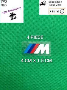 4x Stickers BMW M Motorsport Logo Performance AUTOCOLLANTS  étrier de frein
